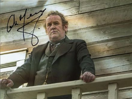 Colm Meaney, signed 8x6 inch photo.